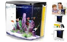 1.4 Gallon Betta Aquarium Fish Tank with Led Light and Filter Pump