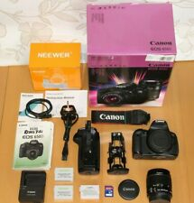 Canon EOS 650D 18.0 MP SLR Camera - Canon EF-S 18-55mm IS II + EXTRAS