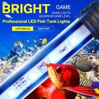 Aquarium Fish Tank LED SMD RGB Light Bar Lamp Lighting Submersible 18-118cm