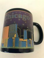 Chicago Mug Coffee Tea Illinois Navy Blue Souvenir City Merchandise