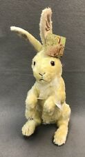 "DITZ 12"" IVORY CLASSIC JACK RABBIT Stuffed Easter Bunny Standing The Hen House"
