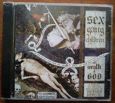 """Sex Gang Children """"The Wrath Of God"""" CD (Neuf, sous blister) Dark Goth"""