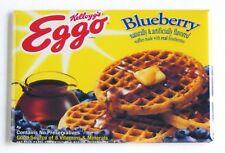 Blueberry Frozen Waffles FRIDGE MAGNET (2 x 3 inches)
