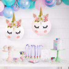 More details for 1pc diy white unicorn lantern for party