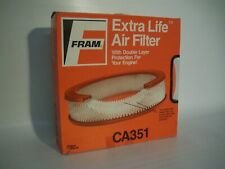 CA351 Fram Extra Life Air Filter - Round Replacement Filter