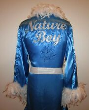 Nature Boy Ric Flair Autographed Signed Blue Feathered Wrestling Robe ASI Proof