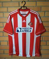 Sunderland Jersey 2012 2013 Home L Shirt Adidas Football Soccer Trikot Maglia