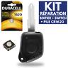 KIT► Réparation Coque Télécommande Plip Boitier pour Clé PEUGEOT 106 206 306 406