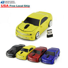 3D Cordless USB 2.4Ghz Wireless car mouse Laptop PC Gaming Mice LED Gift 1600DPI