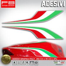 Adesivi Stickers Pegatinas Moto Graffio Italia Bandiera Codone Ducati Aprilia MV