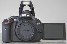 Nikon D5100 DSLR Body Only Black Low Shutter 6727 Excellent+