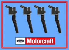 4 X Genuine FORD Ignition Coil MOTORCRAFT 4.6L 5.4L 6.8L V8 V10 Lincoln Mercury