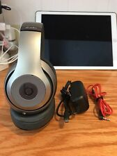 Beats by Dr. Dre Studio 2 Wired Headband Headphones - Titanium - Good Condition