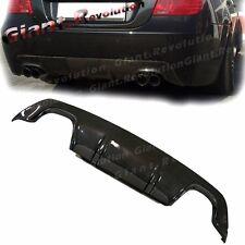 Fit BMW 2004-10 E60 535i 550i M-Sport Rear Bumper 3D Carbon Fiber Lower Diffuser
