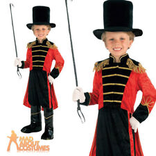 Ring Master Costume Childrens Fancy Dress for Halloween Small 110 to 122cm