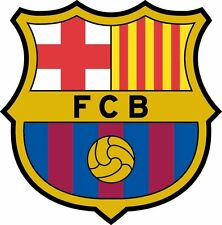 FC BARCELONA Vinyl DieCut Decal Logo EPL English Football Soccer 4 Stickers
