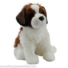 "OMA Douglas plush 12"" long ST. BERNARD stuffed animal dog cuddle toy shelty"
