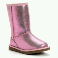 New! Toddler Girls Jumping Beans PATSY PINK Boot in Pink Glitter 110557 G9