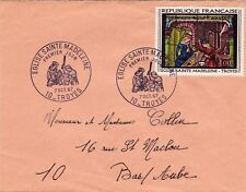 France FDC - 1° JOUR 1967 - Eglise Sainte Madeleine Troyes 10000 Aube - N° 1531