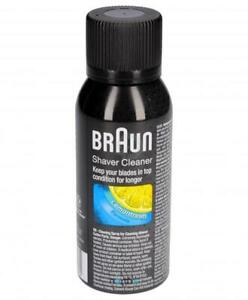 Braun Liquid Spray for Cleaning Of Headshell Knife Razor Cruzer Series 9