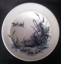 c.1876 Aesthetic Movement Sylvan Haunt Of The Snipe William Brownfield Dish