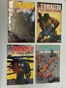 Terminator The Enemy Within set #1-4 6.0 FN (1991 Dark Horse)