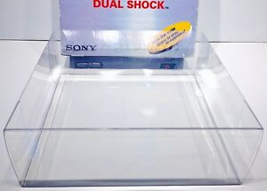 1 Console Box Protector For PLAYSTATION 1 Custom Clear Display Boxes NOT PS ONE!