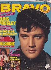 BRAVO #29 vintage teen - music magazine - ELVIS - BLONDIE