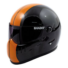 CASQUE MOTO INTEGRAL BANDIT XXR TAILLE S  BLACK/ ORANGE HELMET