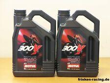 Motul 300V 4T  15W-50 2 x 4 l  Sonderpreis (13,50€/l )