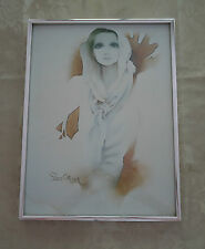 Lovely Retro Chic SARA MOON Framed Art Print Picture