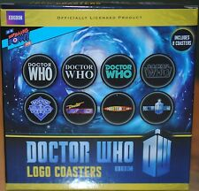Doctor Dr Who Logo Coasters Set of 8