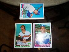 1981 1982 1983 1984 1985 1987 1989 Topps Baseball & Traded lot set pick 20 NM