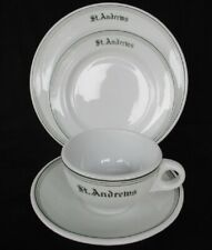 1930-50s  St. Andrews  4pc SHENANGO CHINA Marshall Field & Co. ~ Restaurant Ware