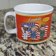 Campbells Kids Soup Mug 2004 100 Year Anniversary Military 50s Dance Army Navy