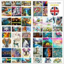 New 5D Diamond Painting Embroidery Cross Craft By Numbers Arts Kit Decor Gift