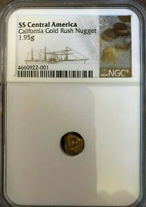 SS CENTRAL AMERICA SSCA SHIPWRECK 1.95 GRAM GOLD NUGGET FROM SECOND RECOVERY
