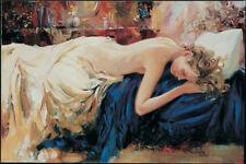 Igor Semeko- Sleeping | Giclee on Canvas | Hand Signed & Numbered | COA
