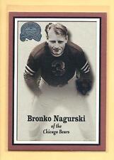 BRONKO NAGURSKI - 2000 Fleer Greats Of The Game #85 - Bears - Combined Shipping