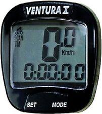 Fahrrad Computer Ventura X,10 Funktionen,schwarz, Neu