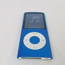 "Ipod Nano 8GB 4th Generation in Blue A1285 2"" Screen in Original Box AL/JP"