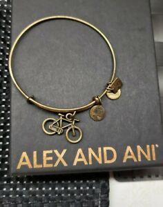 ALEX AND ANI BICYCLE CHARM BANGLE BRACELET