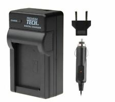 New Premium Tech Rapid 4.2 Volt Battery Charger for Canon NB6L Samsung SLB-10A