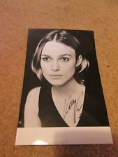 6x4 Hand Signed Photo of Keira Knightley - Everest, Star Wars Sabe