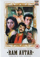 RAM AVTAR - BOLLYWOOD DVD - Sunny Deol, Anil Kapoor, Sridevi, Shakti Kapoor.