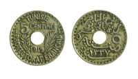 s291_45)  Tunisia 5 Centimes 1919  - French Protectorate