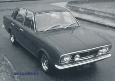 Vintage Image: Ford Cortina 1600E Car