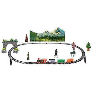RC Christmas Train Set - Around the Xmas Tree with Real Smoke, Music and Lights