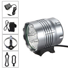 12000Lm 5x XML U2 LED Front Bicycle Bike Rechargeable Head Light Torch Headlight