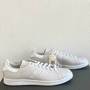 Adidas Stan Smith Mens Size 10 Casual Gray White Silver Classic Sneakers FX1030
